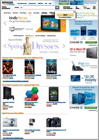 Example conversion of amazon.com to PDF