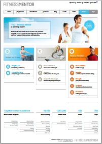 Example conversion of fitnessmentor.com to PDF