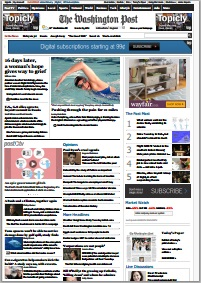 Example conversion of washingtonpost.com to PDF